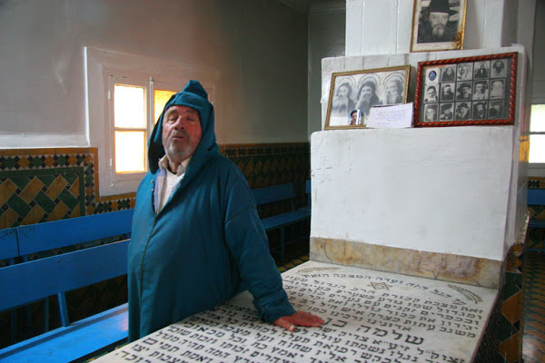 Tomb of Rabbi Shlomo ben Lhensh at Ourika Valley, Morocco