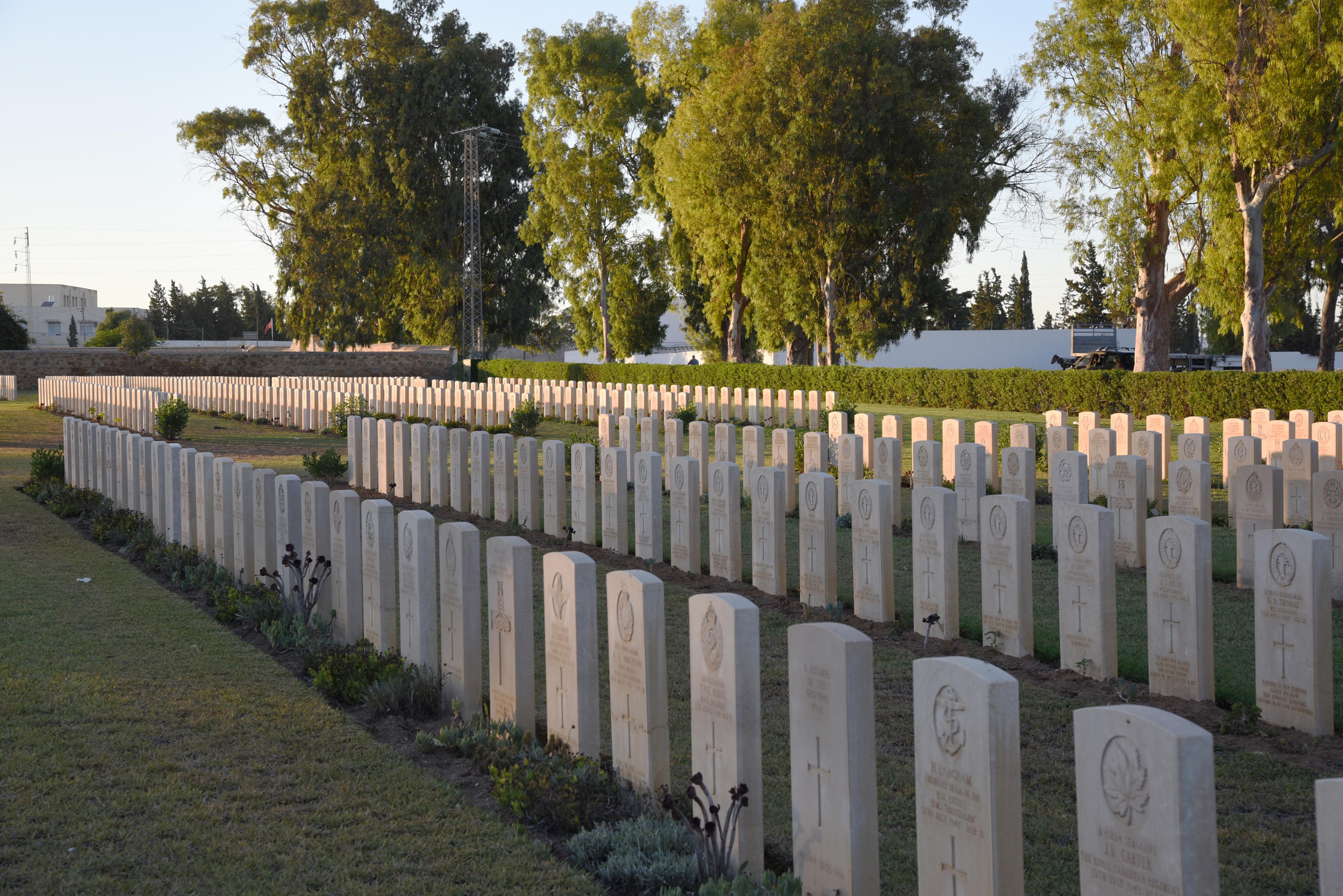 Enfidha War Cemetery, Enfidha (Enfida), Tunisia | Archive