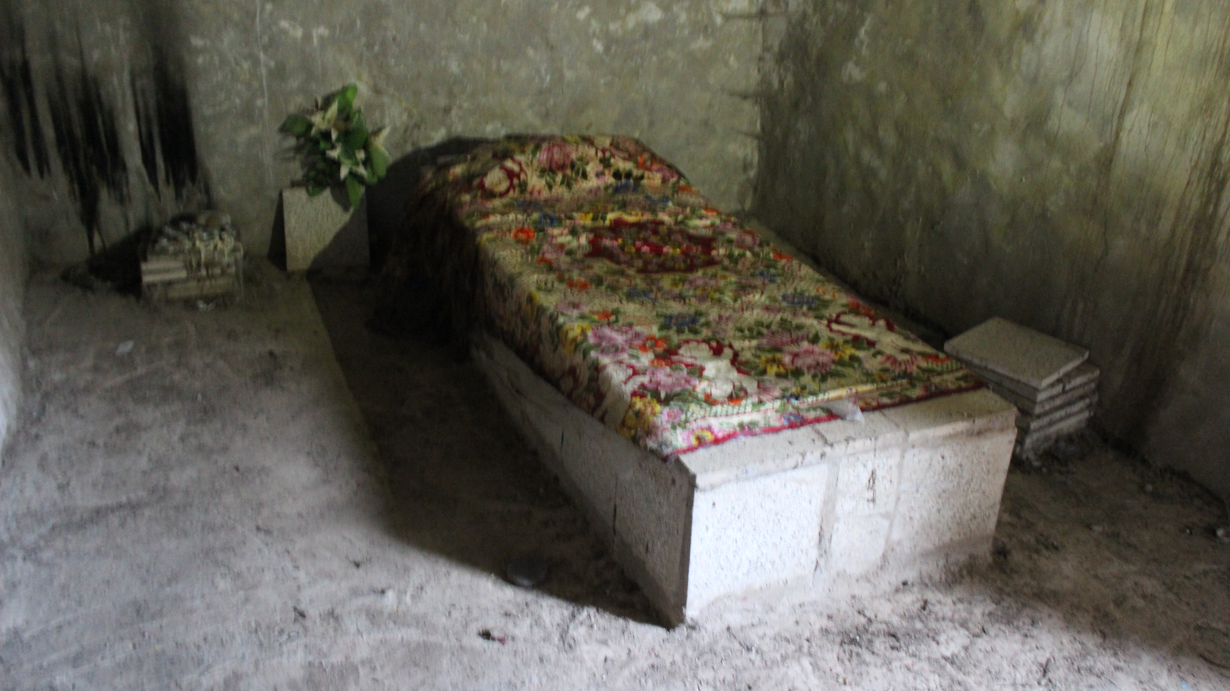 Grave of Asenath Barzani in Amediye, Iraq
